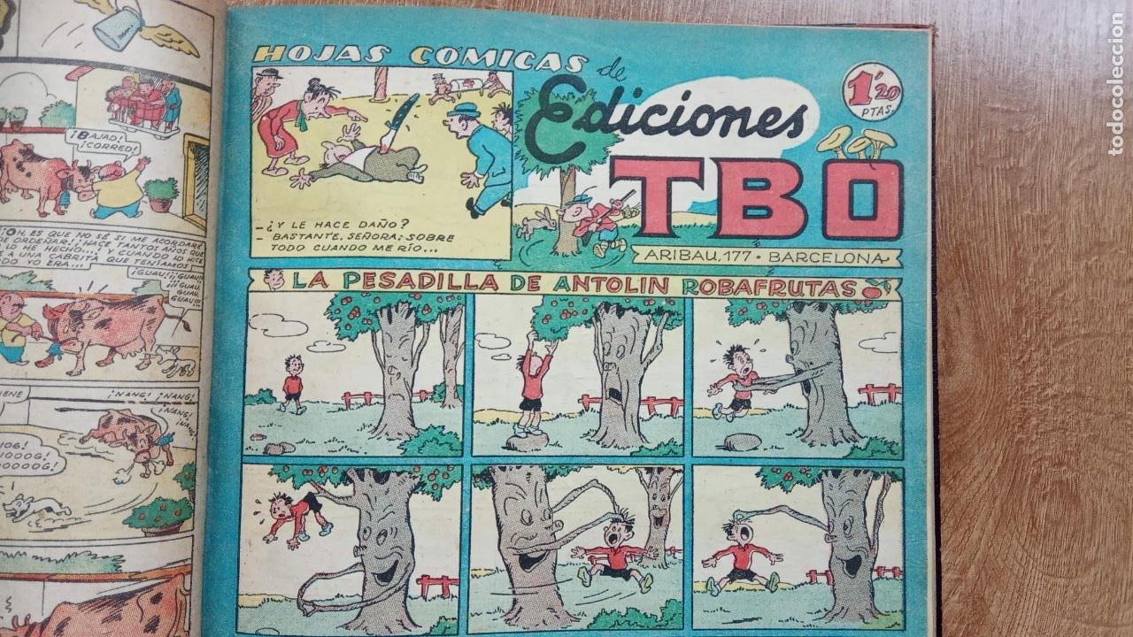 Tebeos: TBO SIN NÚMERO 26 EJEMPLARES, TBO 1952 26 EJEMPLARES, ALMANAQUE 1952,1959,HUMORISTICO 1959 - Foto 8 - 224677375