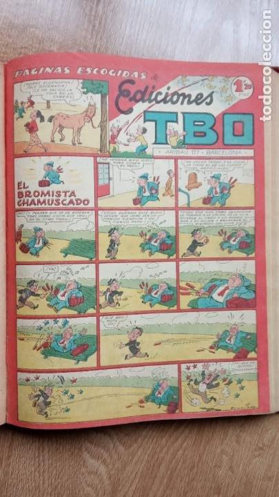 Tebeos: TBO SIN NÚMERO 26 EJEMPLARES, TBO 1952 26 EJEMPLARES, ALMANAQUE 1952,1959,HUMORISTICO 1959 - Foto 24 - 224677375