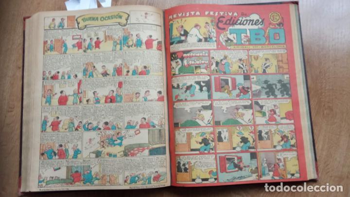 Tebeos: TBO SIN NÚMERO 26 EJEMPLARES, TBO 1952 26 EJEMPLARES, ALMANAQUE 1952,1959,HUMORISTICO 1959 - Foto 30 - 224677375