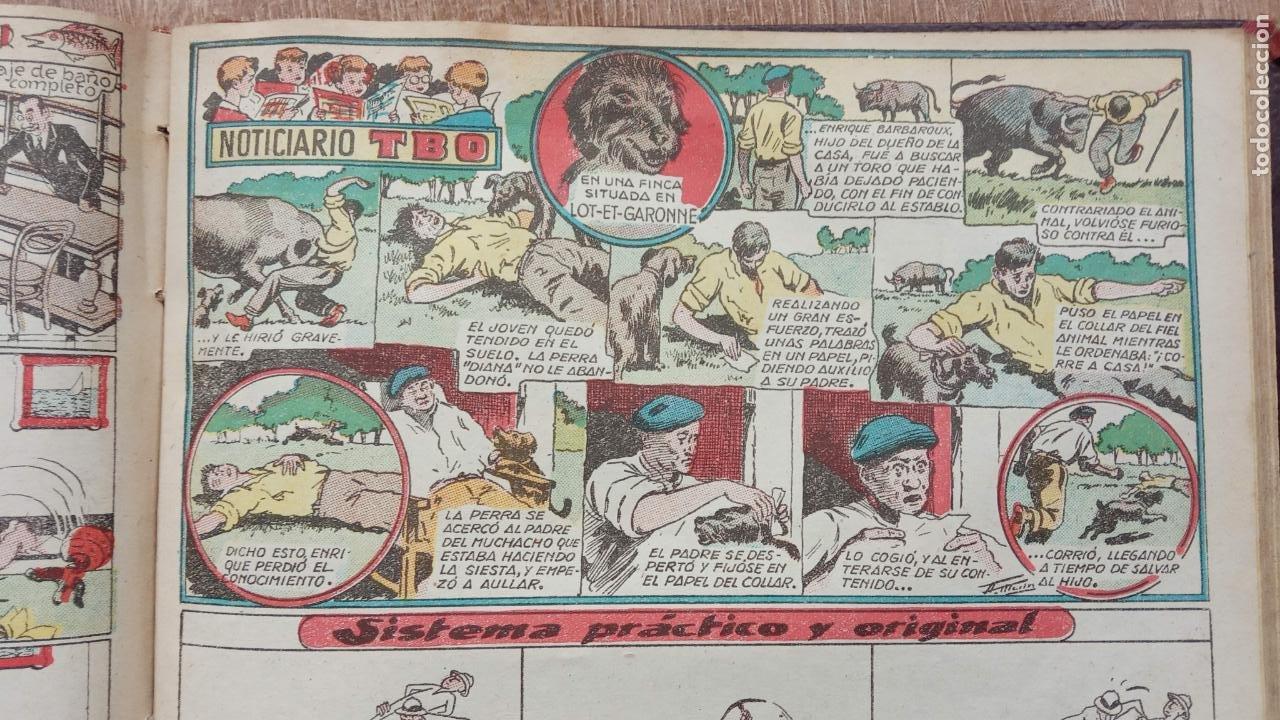 Tebeos: TBO SIN NÚMERO 26 EJEMPLARES, TBO 1952 26 EJEMPLARES, ALMANAQUE 1952,1959,HUMORISTICO 1959 - Foto 38 - 224677375