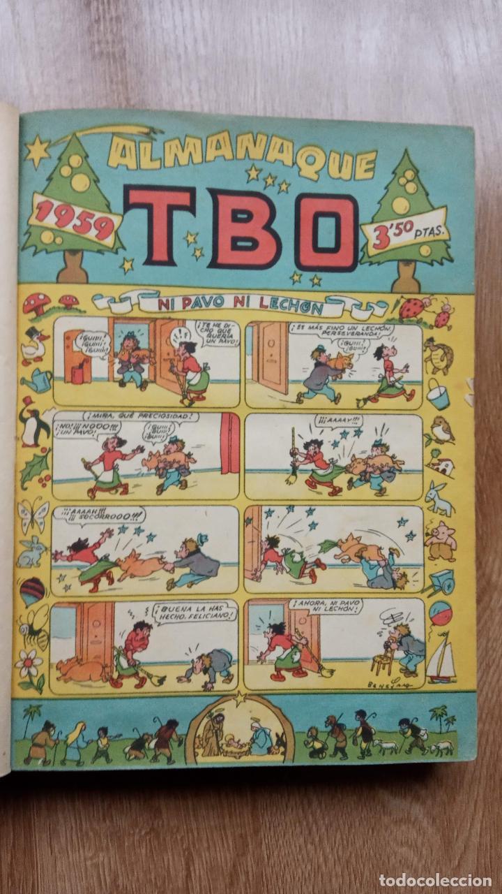 Tebeos: TBO SIN NÚMERO 26 EJEMPLARES, TBO 1952 26 EJEMPLARES, ALMANAQUE 1952,1959,HUMORISTICO 1959 - Foto 55 - 224677375