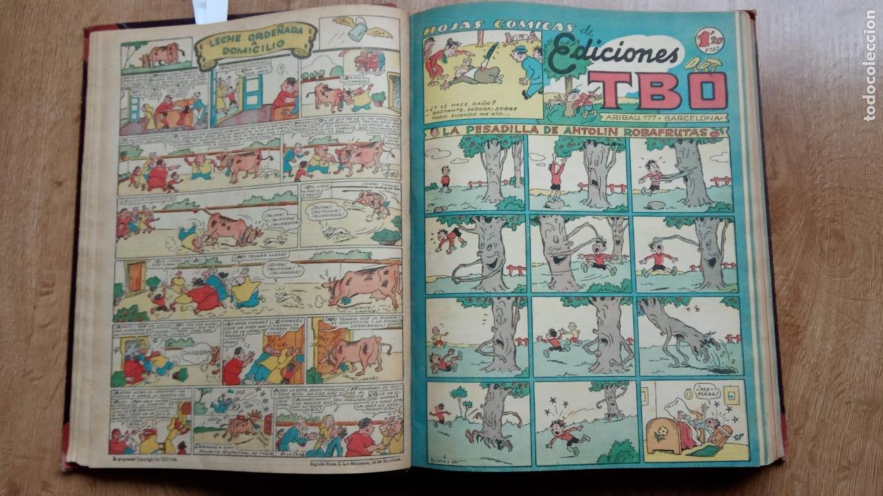 Tebeos: TBO SIN NÚMERO 26 EJEMPLARES, TBO 1952 26 EJEMPLARES, ALMANAQUE 1952,1959,HUMORISTICO 1959 - Foto 74 - 224677375