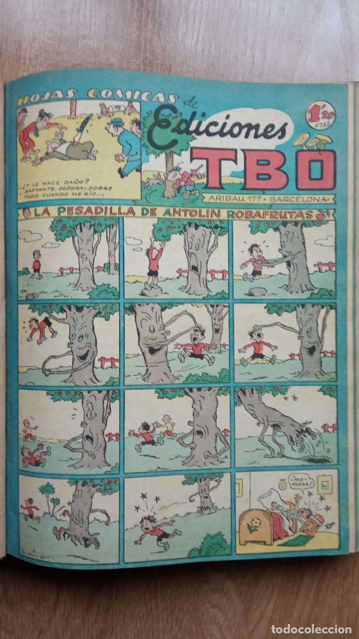 Tebeos: TBO SIN NÚMERO 26 EJEMPLARES, TBO 1952 26 EJEMPLARES, ALMANAQUE 1952,1959,HUMORISTICO 1959 - Foto 75 - 224677375
