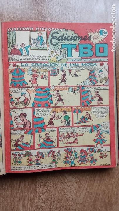 Tebeos: TBO SIN NÚMERO 26 EJEMPLARES, TBO 1952 26 EJEMPLARES, ALMANAQUE 1952,1959,HUMORISTICO 1959 - Foto 83 - 224677375