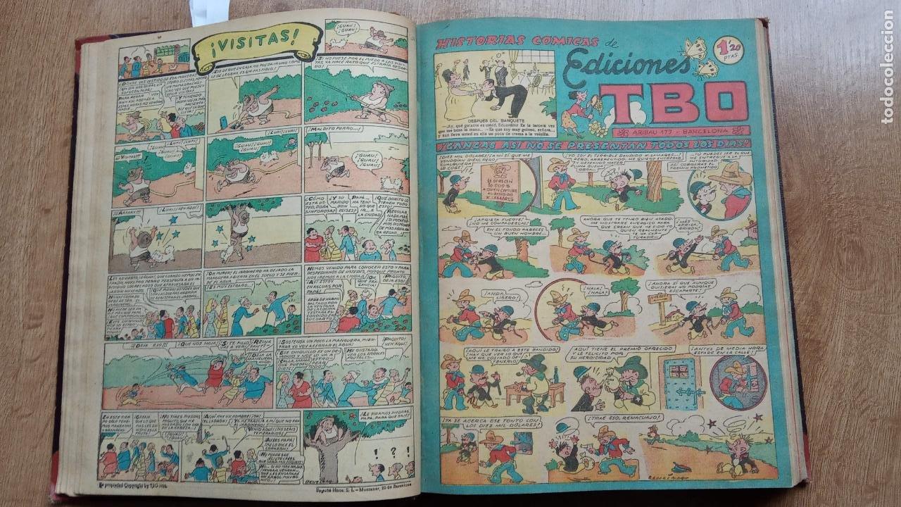 Tebeos: TBO SIN NÚMERO 26 EJEMPLARES, TBO 1952 26 EJEMPLARES, ALMANAQUE 1952,1959,HUMORISTICO 1959 - Foto 84 - 224677375
