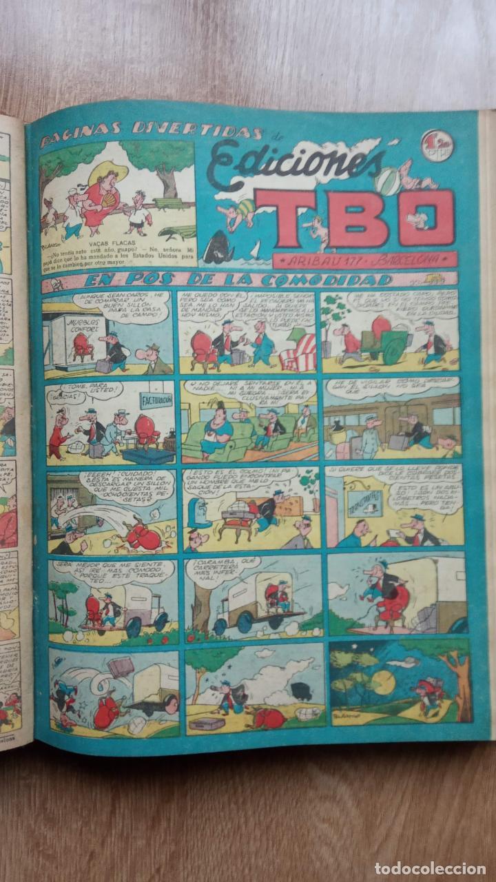 Tebeos: TBO SIN NÚMERO 26 EJEMPLARES, TBO 1952 26 EJEMPLARES, ALMANAQUE 1952,1959,HUMORISTICO 1959 - Foto 87 - 224677375