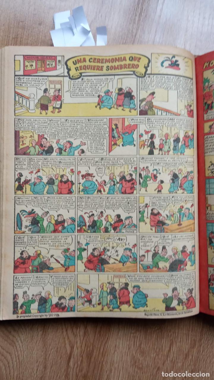 Tebeos: TBO SIN NÚMERO 26 EJEMPLARES, TBO 1952 26 EJEMPLARES, ALMANAQUE 1952,1959,HUMORISTICO 1959 - Foto 93 - 224677375