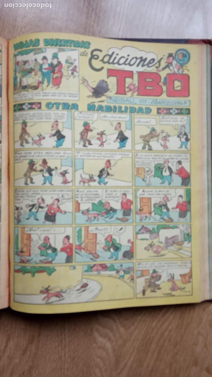 Tebeos: TBO SIN NÚMERO 26 EJEMPLARES, TBO 1952 26 EJEMPLARES, ALMANAQUE 1952,1959,HUMORISTICO 1959 - Foto 102 - 224677375