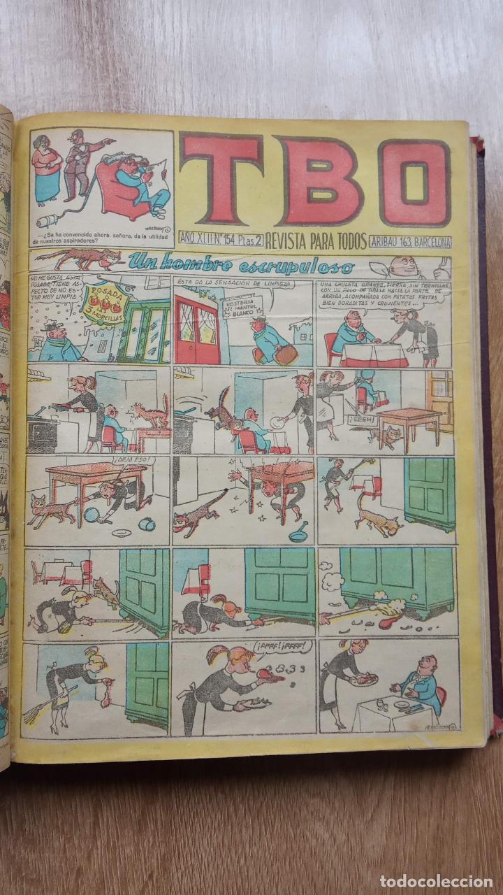 Tebeos: TBO SIN NÚMERO 26 EJEMPLARES, TBO 1952 26 EJEMPLARES, ALMANAQUE 1952,1959,HUMORISTICO 1959 - Foto 153 - 224677375