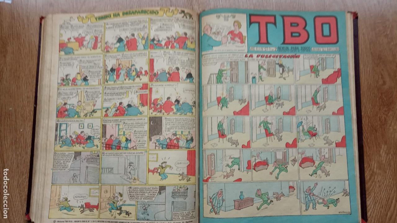 Tebeos: TBO SIN NÚMERO 26 EJEMPLARES, TBO 1952 26 EJEMPLARES, ALMANAQUE 1952,1959,HUMORISTICO 1959 - Foto 176 - 224677375