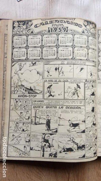 Tebeos: TBO SIN NÚMERO 26 EJEMPLARES, TBO 1952 26 EJEMPLARES, ALMANAQUE 1952,1959,HUMORISTICO 1959 - Foto 179 - 224677375
