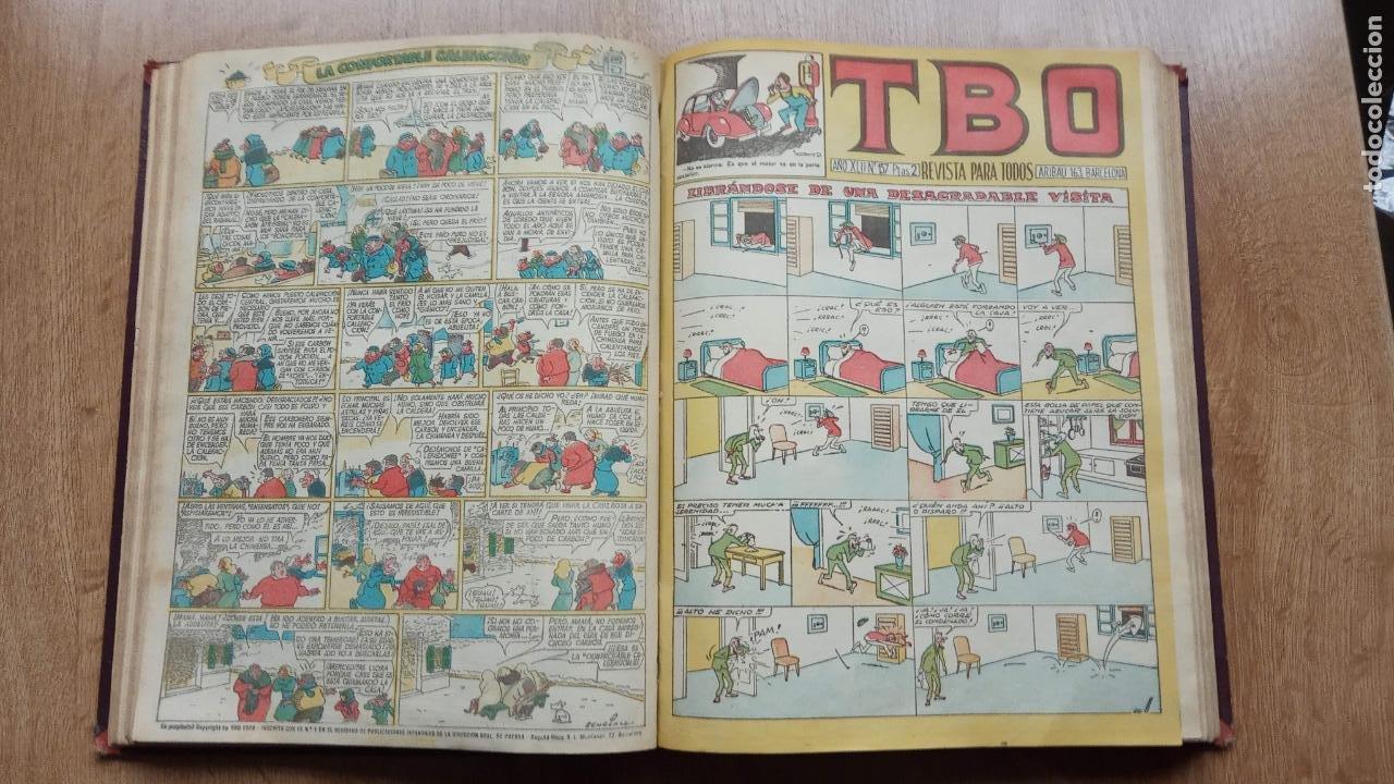 Tebeos: TBO SIN NÚMERO 26 EJEMPLARES, TBO 1952 26 EJEMPLARES, ALMANAQUE 1952,1959,HUMORISTICO 1959 - Foto 185 - 224677375
