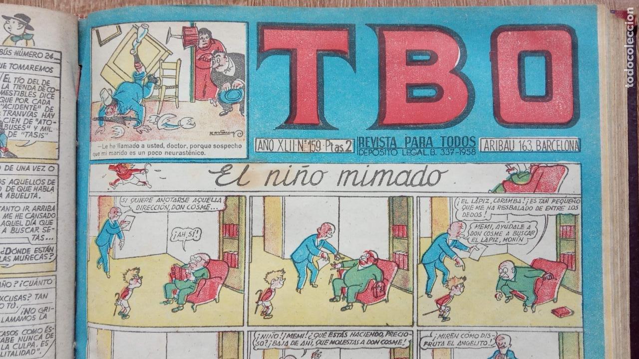Tebeos: TBO SIN NÚMERO 26 EJEMPLARES, TBO 1952 26 EJEMPLARES, ALMANAQUE 1952,1959,HUMORISTICO 1959 - Foto 192 - 224677375