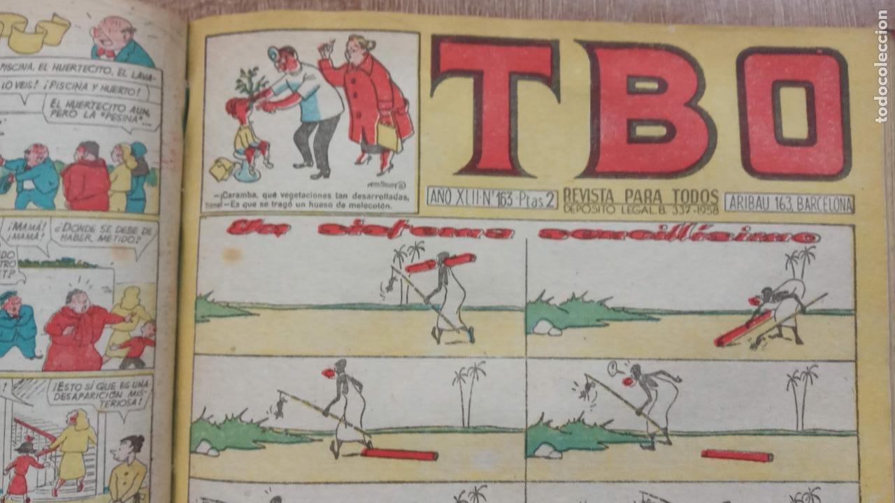 Tebeos: TBO SIN NÚMERO 26 EJEMPLARES, TBO 1952 26 EJEMPLARES, ALMANAQUE 1952,1959,HUMORISTICO 1959 - Foto 200 - 224677375