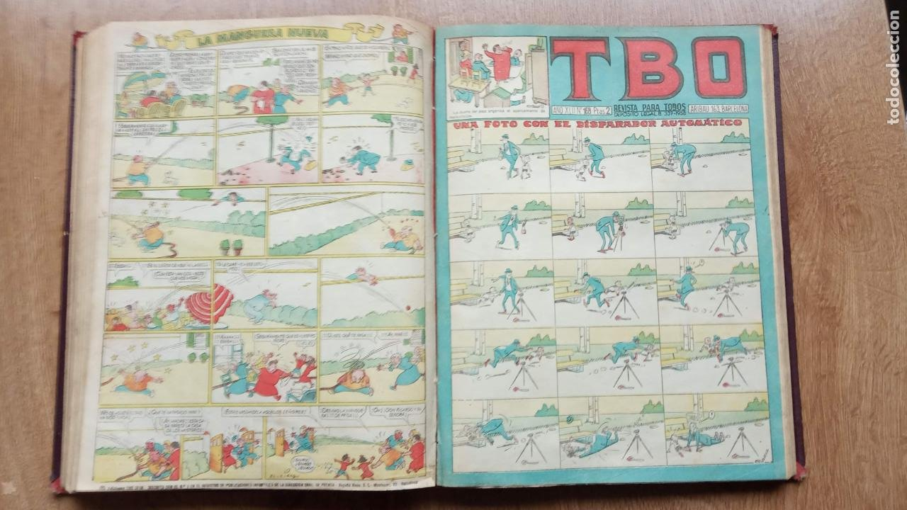 Tebeos: TBO SIN NÚMERO 26 EJEMPLARES, TBO 1952 26 EJEMPLARES, ALMANAQUE 1952,1959,HUMORISTICO 1959 - Foto 209 - 224677375