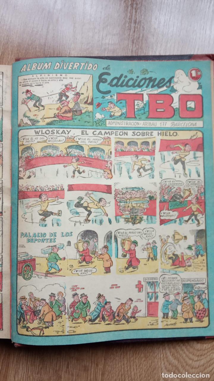 TBO SIN NÚMERO 26 EJEMPLARES, TBO 1952 26 EJEMPLARES, ALMANAQUE 1952,1959,HUMORISTICO 1959 (Tebeos y Comics - Buigas - TBO)