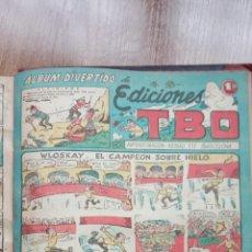 Tebeos: TBO SIN NÚMERO 26 EJEMPLARES, TBO 1952 26 EJEMPLARES, ALMANAQUE 1952,1959,HUMORISTICO 1959. Lote 224677375
