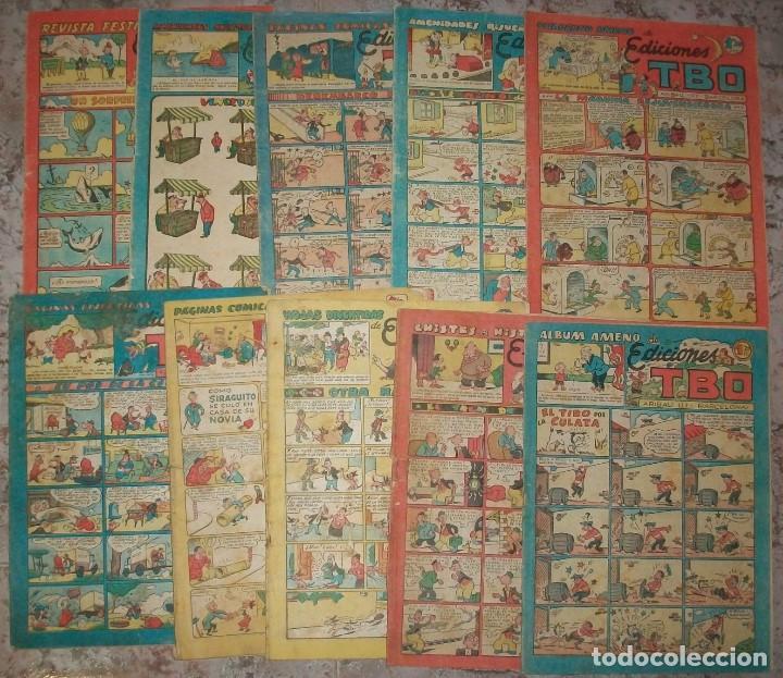 EDICIONES TBO S/N LOTE DE 16 TEBEOS (Tebeos y Comics - Buigas - Otros)