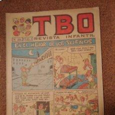 Tebeos: TEBEO TBO AÑO 1958 Nº 534. Lote 224857370