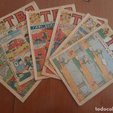 Tebeos: LOTE DE 6 ANTIGUOS TBO DESDE EL AÑO 1964 AL AÑO 1971. VER FOTOS DETALLADAS. Lote 225054967