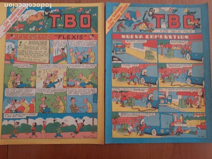 LOTE DE DOS TBO Nº 2372 Y 2370. BUEN ESTADO (Tebeos y Comics - Buigas - TBO)