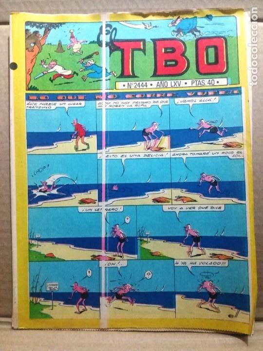 TBO Nº 2444 (Tebeos y Comics - Buigas - TBO)