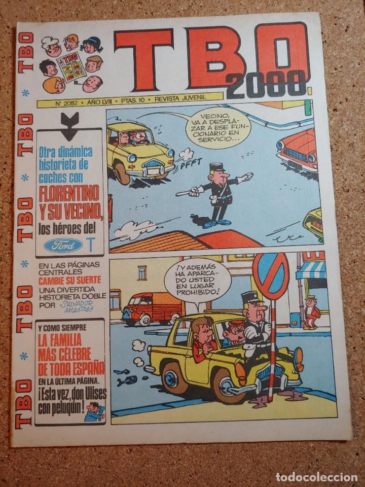 TEBEO TBO 2000 AÑO LVIII Nº 2082 (Tebeos y Comics - Buigas - TBO)