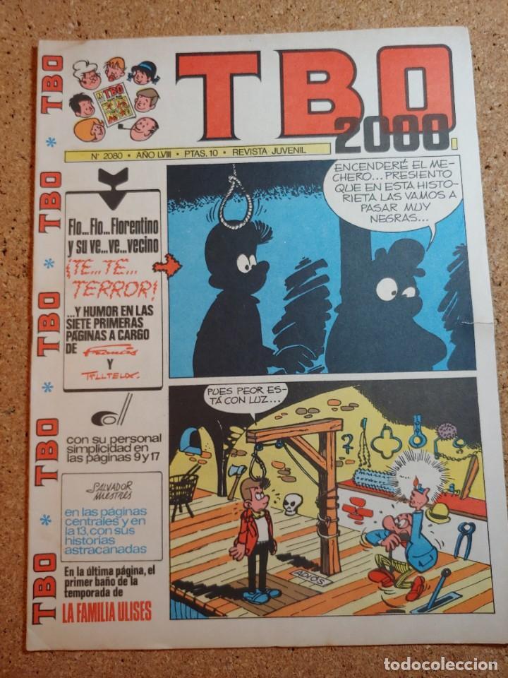 TEBEO TBO 2000 AÑO LVIII Nº 2080 (Tebeos y Comics - Buigas - TBO)