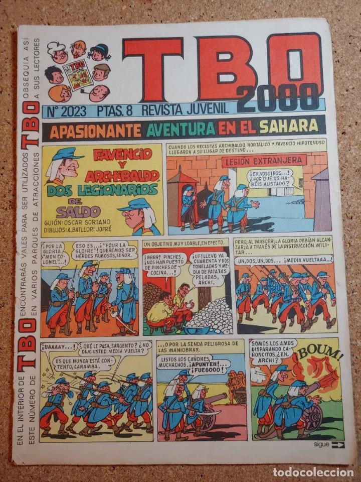 TEBEO TBO 2000 AÑO LVII Nº 2023 (Tebeos y Comics - Buigas - TBO)