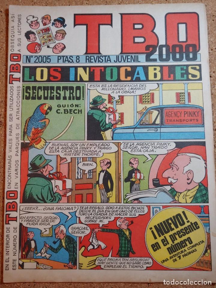 TEBEO TBO 2000 AÑO LVII Nº 2005 (Tebeos y Comics - Buigas - TBO)