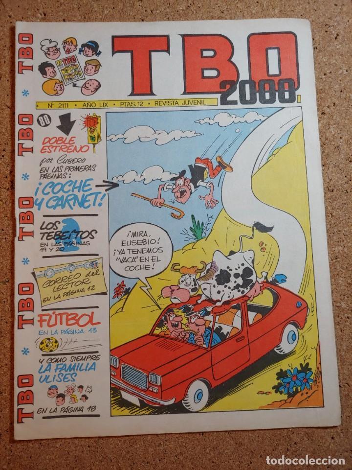 TEBEO TBO 2000 AÑO LIX Nº 2111 (Tebeos y Comics - Buigas - TBO)