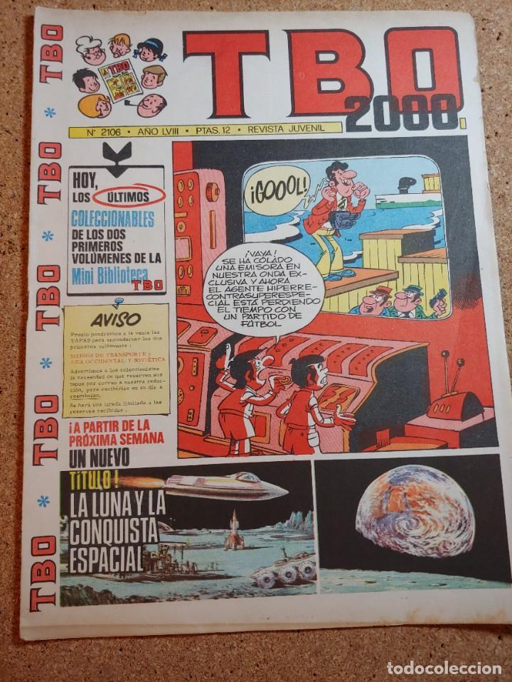 TEBEO TBO 2000 AÑO LVIII Nº 2106 (Tebeos y Comics - Buigas - TBO)