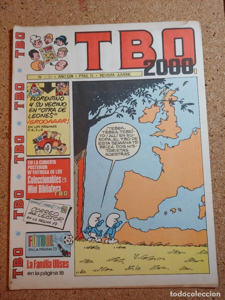 TEBEO TBO 2000 AÑO LVIII Nº 2099 (Tebeos y Comics - Buigas - TBO)