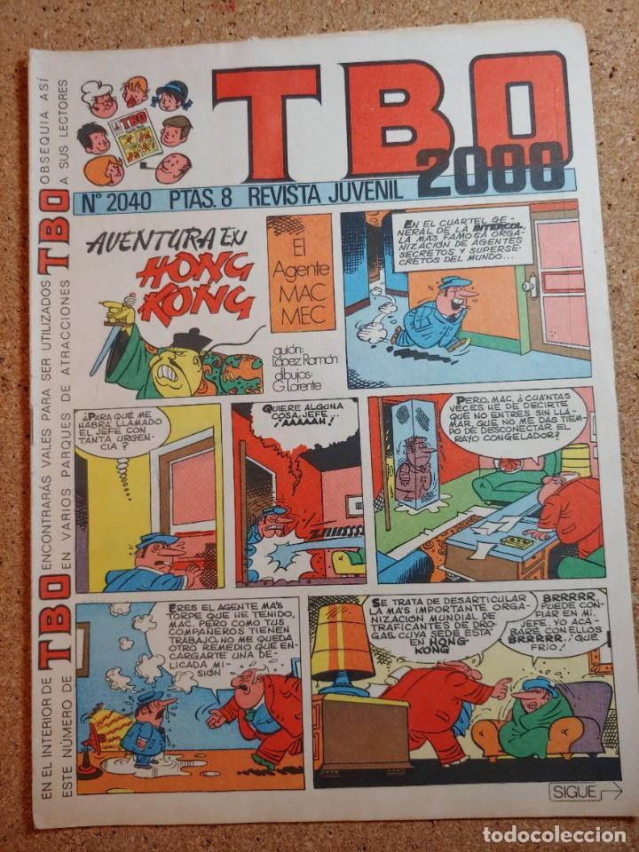 TEBEO TBO 2000 AÑO LVII Nº 2040 (Tebeos y Comics - Buigas - TBO)
