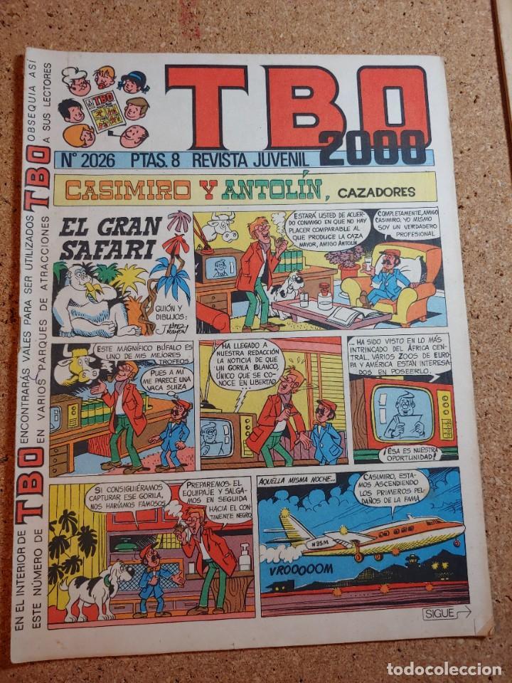 TEBEO TBO 2000 AÑO LVII Nº 2026 (Tebeos y Comics - Buigas - TBO)