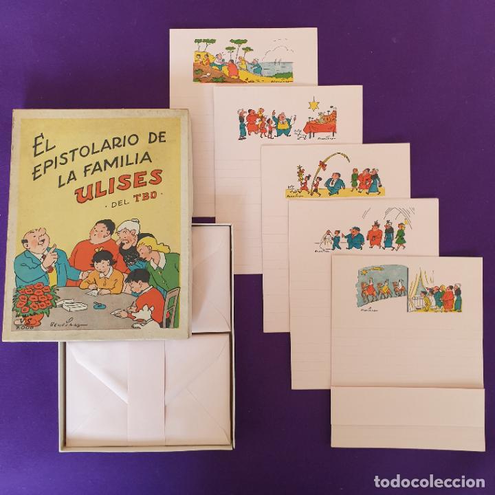 Tebeos: EL EPISTOLARIO DE LA FAMILIA ULISES DEL TBO. VILA SIVILL. BENEJAM. 1958. SIN USAR. - Foto 2 - 230865225