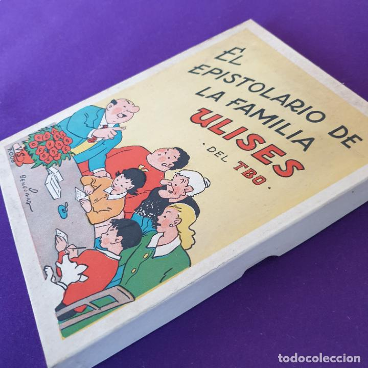 Tebeos: EL EPISTOLARIO DE LA FAMILIA ULISES DEL TBO. VILA SIVILL. BENEJAM. 1958. SIN USAR. - Foto 5 - 230865225