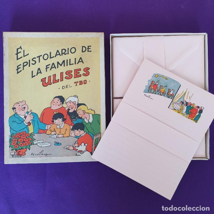 EL EPISTOLARIO DE LA FAMILIA ULISES DEL TBO. VILA SIVILL. BENEJAM. 1958. SIN USAR. (Tebeos y Comics - Buigas - TBO)