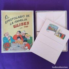 Tebeos: EL EPISTOLARIO DE LA FAMILIA ULISES DEL TBO. VILA SIVILL. BENEJAM. 1958. SIN USAR.. Lote 230865225