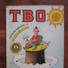 BDs: TBO EXTRAORDINARIO DE VACACIONES. BUIGAS 1970. Lote 230973530