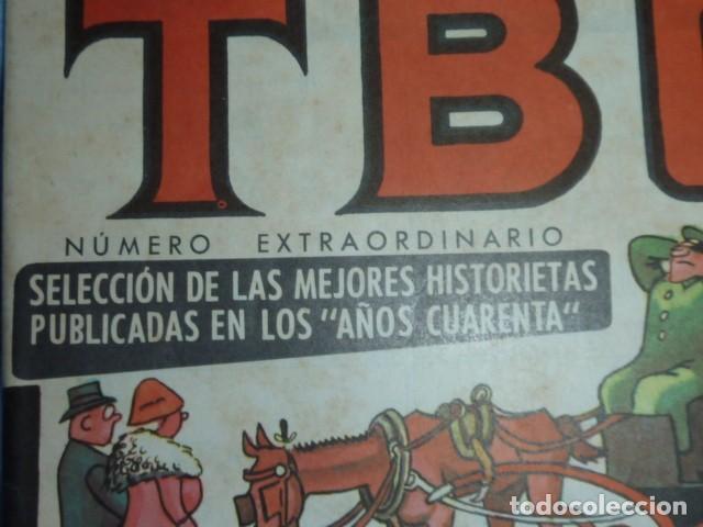 """TBO EXTRAORDINARIO SELECCIÓN MEJORES HISTORIETAS PUBLICADAS EN LOS """"AÑOS CUARENTA"""". 6 PTS (Tebeos y Comics - Buigas - TBO)"""