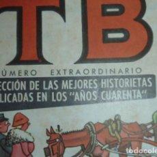 """Tebeos: TBO EXTRAORDINARIO SELECCIÓN MEJORES HISTORIETAS PUBLICADAS EN LOS """"AÑOS CUARENTA"""". 6 PTS. Lote 233181635"""