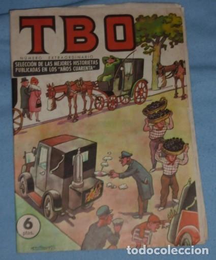 """Tebeos: tbo extraordinario selección mejores historietas publicadas en los """"años cuarenta"""". 6 pts - Foto 2 - 233181635"""