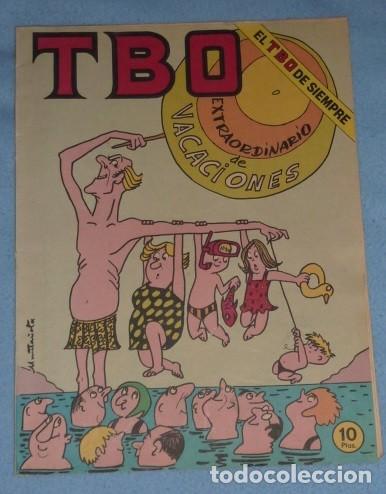 TBO EXTRAORDINARIO DE VACACIONES 10 PTAS (Tebeos y Comics - Buigas - TBO)