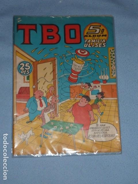 TBO EXTRAORDINARIO QUINTO ALBUM DE LA FAMILIA ULISES 25 PTAS (Tebeos y Comics - Buigas - TBO)