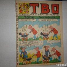 Giornalini: TBO Nº 710 - BUEN CARÁCTER - 1971 - CONTIENE CUPÓN - CURSILLO CRUZ ROJA -. Lote 233748960