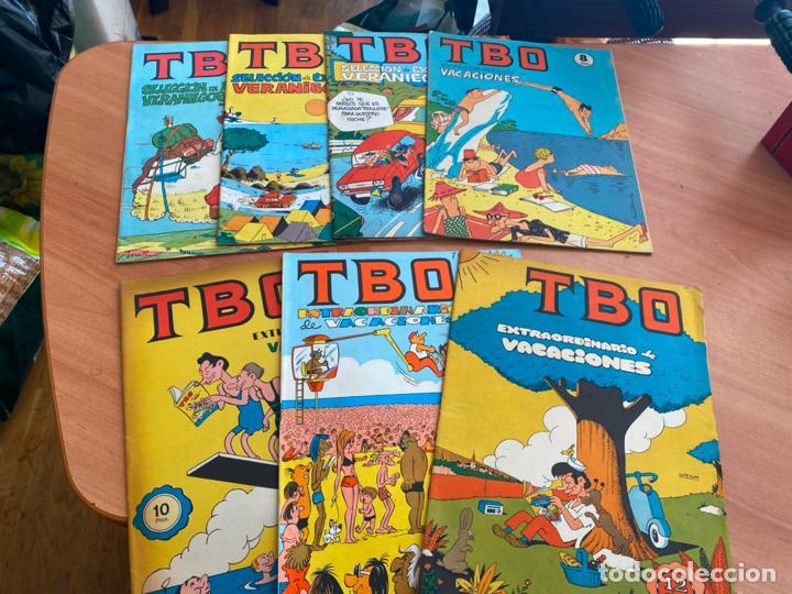 LOTE 7 TBO EXTRA VACACIONES Y EXITOS VERANIEGOS (COIB190) (Tebeos y Comics - Buigas - TBO)