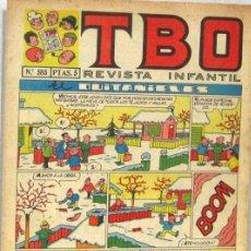 BDs: TBO REVISTA INFANTIL - Nº 585 - EL QUITANIEVES - COMIC. Lote 235034260