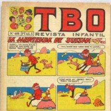 BDs: TBO REVISTA INFANTIL - Nº 608 - LA MERIENDA DEL SULTAN - COMIC. Lote 235036585