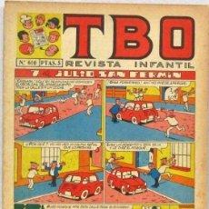 BDs: TBO REVISTA INFANTIL - Nº 610 - 7 DE JULIO SAN FERMIN - COMIC. Lote 235037095